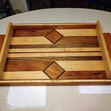Serving tray - Woodworking Project by Galvipa