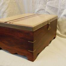 Chakte-Viga Box - Woodworking Project by MontanaBob