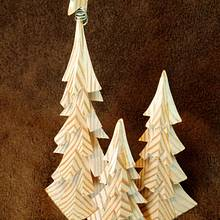 Decorative Holiday Trees - Woodworking Project by jbschutz