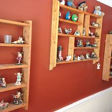 Shelves for Figurines - Woodworking Project by Galvipa