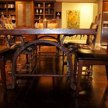 Dining table - Woodworking Project by WestCoast Arts