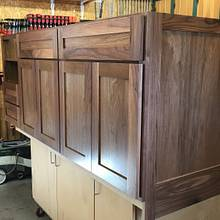 Master Bath Vanity Cabinet - Woodworking Project by dacabinetguy