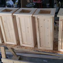 Custom made planter - Woodworking Project by Rosebud613