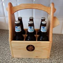 SIX PACK BEER TOTE  - Woodworking Project by kiefer
