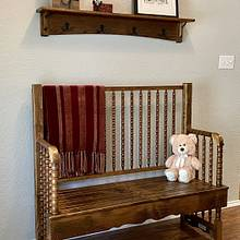 Repurposed Crib - Woodworking Project by John Morgan
