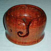 YARN BOWL - Woodworking Project by Sam Shakouri