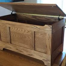 Oak chest - Woodworking Project by Tim