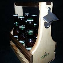 Beer Carrier - Woodworking Project by Jeff Vandenberg