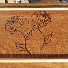 "Jewelry Box ""Burnt Rose"" - Woodworking Project by Angela Maddock"
