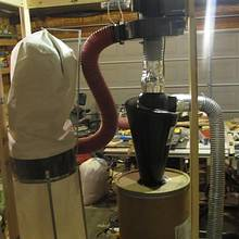 new dust collecting system - Woodworking Project by Indianajoe