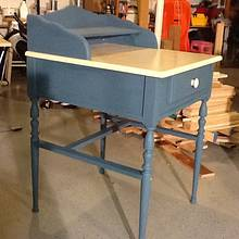 Chalk paint writing desk (shabby chic) - Woodworking Project by Jack King