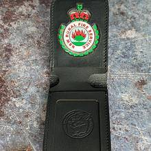 Badge Wallet  - Leatherworking Project by RMKleatherworks