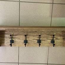 Oak coat rack/shelf - Woodworking Project by Rosebud613