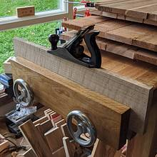End Vise - Woodworking Project by Redplanewoodworking