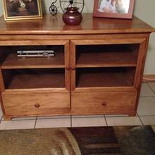 Entertainment center - Woodworking Project by Bill sheehan