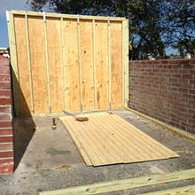 New storage shed. - Woodworking Project by Angelo