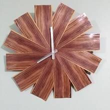 Kingwood Veneer Clock - Woodworking Project by Karson