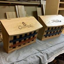 Craftsman mailboxes - Woodworking Project by Narinder Jugdev