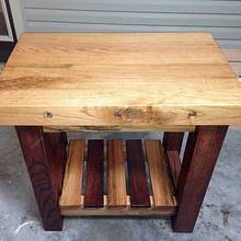 Oak butcher block - Woodworking Project by Chris & Sandy Charpentier