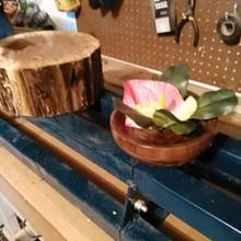 Black walnut bowl - Woodworking Project by jim webster