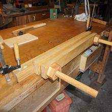 Home made Moxon type vise - Woodworking Project by Madts