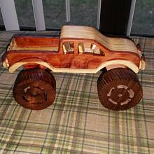 Mud truck - Woodworking Project by handyman1964