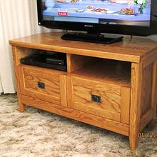 Corner TV Cabinet - Woodworking Project by The Dane
