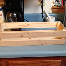 Pallet wood basket - Woodworking Project by Christopher Pine