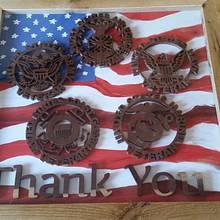 Veteran Plaque - Woodworking Project by David Roberts