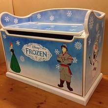 Disney frozen toy box - Woodworking Project by iGotWood