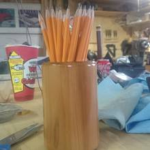 Pencil Cup - Woodworking Project by Chris Tasa