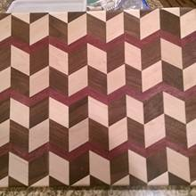 3D Cutting Board - Woodworking Project by Michael De Petro
