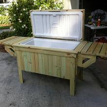 Pool side cooler - Woodworking Project by Angelo