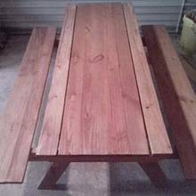 Kids sand box picnic table - Woodworking Project by Rickswoodworks