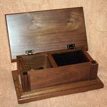 Walnut Jewelry/Music Box - Woodworking Project by Shin