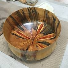 Norfolk Pine bowl - Woodworking Project by BombayWoodWorks