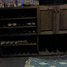 Shoe cabinet - Woodworking Project by jbartle