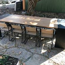 Outdoor winery table  - Woodworking Project by Indistressed