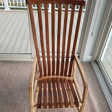High-Back Chair - 1st Prototype - Woodworking Project by MJCD
