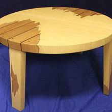 Coffee table (restoration) - Woodworking Project by Andulino
