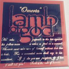 """ Omerta "" Lamb Of God plaque - Woodworking Project by Evan Pipolo"