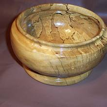 Spalted Maple Bowl  - Woodworking Project by Wheaties  -  Bruce A Wheatcroft   ( BAW Woodworking)