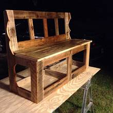 Bus Bench - Woodworking Project by Dusty1