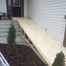 Wheelchair ramp - Woodworking Project by MaggiesDad