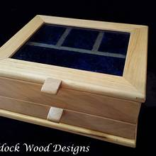 "Jewelry Box ""Blue Gem"" - Woodworking Project by Angela Maddock"