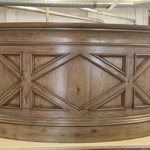 Bow Front Bar - Woodworking Project by Les Hastings