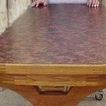 Mobile kitchen table - Woodworking Project by a1jim