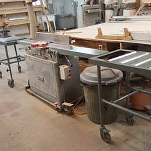 Height adjustable roller bearing carts - Woodworking Project by WestCoast Arts