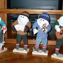 Newfoundland Mummers - Woodworking Project by Darlene
