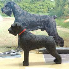 Giant Schnauzer Carving. - Woodworking Project by Rolando Pupo
